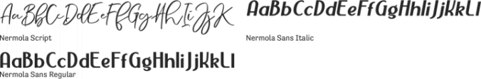 Nermola Scripcy Font font download