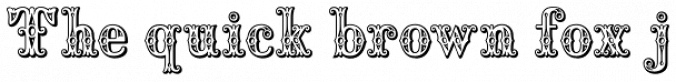 Saddlery Font Preview