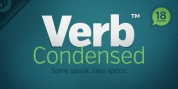 Verb Condensed font download