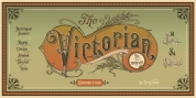 Victorian Fonts Family font download