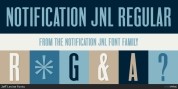 Notification JNL font download