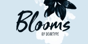 Blooms font download