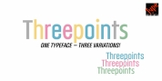 ThreepointsWest font download