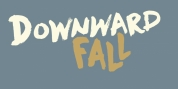 Downward Fall font download