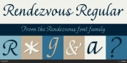 Rendezvous font download