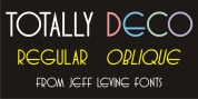 Totally Deco JNL font download