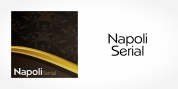 Napoli Serial font download