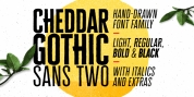 Cheddar Gothic Sans Two font download