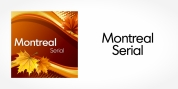 Montreal Serial font download