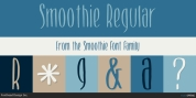 Smoothie font download