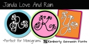 JANDA Love And Rain font download