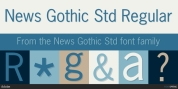 News Gothic Std font download
