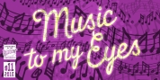 Music To My Eyes font download