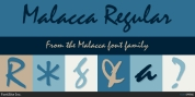 Malacca font download