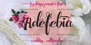 Adefebia font download