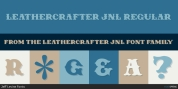 Leathercrafter JNL font download