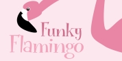 Funky Flamingo font download
