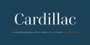 Cardillac font download