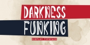 Darkness Funking font download