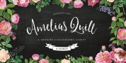 Amelia's Quill font download