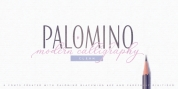 Palomino Clean font download