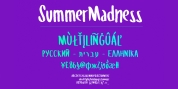 Summer Madness font download