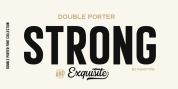 Double Porter font download