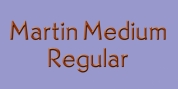 Martin Medium font download