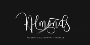 Almonds font download