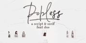 Popless font download