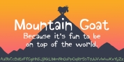 Mountain Goat font download