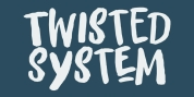 Twisted System font download