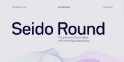 Bw Seido Round font download
