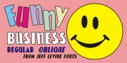 Funny Business JNL font download