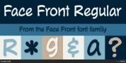 Face Front font download