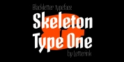 Skeleton Type One font download