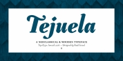 Tejuela font download