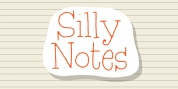 Silly Notes font download