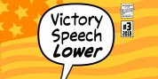 Victory Speech Lower font download
