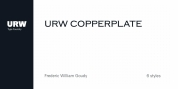 URW Copperplate font download