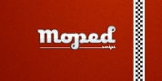Moped font download