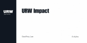 URW Impact font download