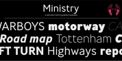 Ministry font download