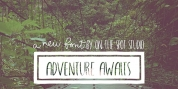 Adventure font download