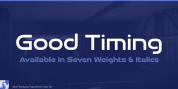 Good Timing font download