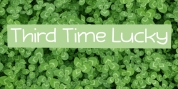 Third Time Lucky font download