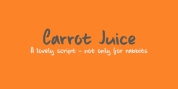 Carrot Juice font download