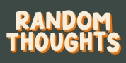 Random Thoughts font download