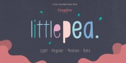 Little Pea font download