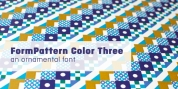 FormPattern Color Three font download